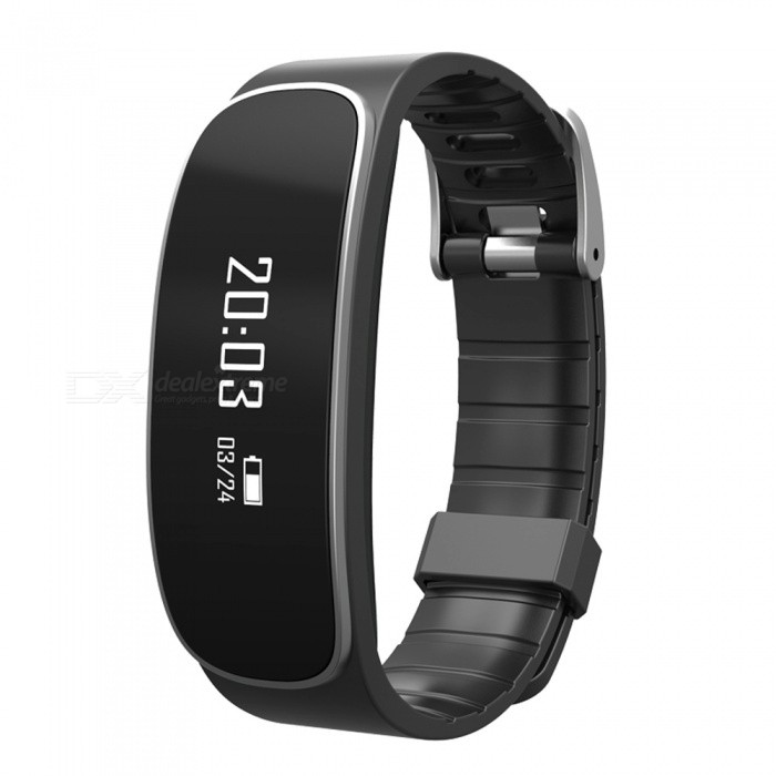 Ravi H29 Bluetooth Smart Armband med Heart Rate Monitor - Svart