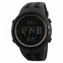 SKMEI 1251 50m Waterproof Men's Digital Sports Watch - Red