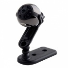 P-TOP SQ9 Ronde Vorm Mini 1080P HD Kleinste Camera-Zwart