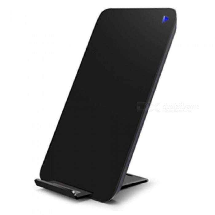 Mindzo Fast Quick Charge Wireless Qi Charger Charging Stand - BlackWireless Chargers<br>Form  ColorBlackPower AdapterWithout Power AdapterModelF19BQuantity1 DX.PCM.Model.AttributeModel.UnitMaterialPCExecutive StandardQiShade Of ColorBlackTypeChargerCompatible ModelsMost Smart PhonesTransmition Distance10mm maxCharging Efficiency75%Built-in BatteryNoCable Length100 DX.PCM.Model.AttributeModel.UnitInput9V/1.67A OR 5V/2AOutput interface, output current, output voltage9V/1.2A OR 5V/1ALED IndicatorYesCertificationCE ROHS FCCPacking List1 x Wireless charger1 x User manual1 x Type-c cable1 x Gift box<br>