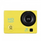 Buy 2 inch LCD 12MP 1080P Wi-Fi Action Sports Camera 32GB Memory - Yellow