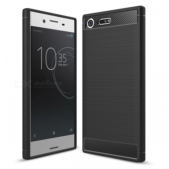 Dayspirit Wire Drawing Carbon Fiber TPU Case for Sony XZ PremiumTPU Cases<br>Form  ColorBlackModelN/AMaterialTPUQuantity1 pieceShade Of ColorBlackCompatible ModelsSony Xperia XZ PremiumPacking List1 x Case<br>
