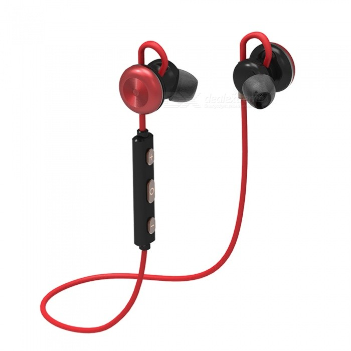 Eastor X9 Sports Bluetooth Magnetic In-Ear Earphone with Mic - RedHeadphones<br>Form  ColorRedBrandOthers,EastorModelX9MaterialPlasticQuantity1 DX.PCM.Model.AttributeModel.UnitConnectionBluetoothBluetooth VersionBluetooth V4.1Bluetooth ChipCSR 8635Operating Range10MConnects Two Phones SimultaneouslyYesHeadphone StyleBilateral,Earbud,In-EarWaterproof LevelOthers,SweatproofApplicable ProductsUniversalHeadphone FeaturesEnglish Voice Prompts,Phone Control,Magnetic Adsorption,Noise-Canceling,Volume Control,With Microphone,Lightweight,Portable,For Sports &amp; ExerciseSupport Memory CardNoSupport Apt-XNoSNR75dBTHDBattery TypeLi-ion batteryBuilt-in Battery Capacity 75 DX.PCM.Model.AttributeModel.UnitStandby Time180 DX.PCM.Model.AttributeModel.UnitTalk Time6-8 DX.PCM.Model.AttributeModel.UnitPacking List1 x Earphone1 x Charging Cable1 x Manual<br>