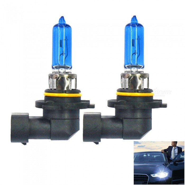 HB3 9005 12V 65W 5500K White Light Auto Halogen Headlamp (2 PCS)Headlights<br>Color Temperature5500KModel9005Quantity2 DX.PCM.Model.AttributeModel.UnitMaterialHalogen headlamps + Stainless steel lampForm  ColorBlack + BlueCompatible Car ModelSuitable for all 12V cars with HB3 / 9005 interface.Rate Voltage12VPowerOthers,65WColor BINWhiteTheoretical Lumens2000 DX.PCM.Model.AttributeModel.UnitActual Lumens1900-2000 DX.PCM.Model.AttributeModel.UnitConnector Type9005,Others,HB3Packing List2 x Car lights<br>