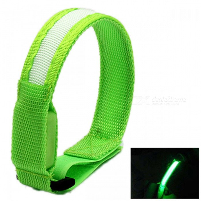 YWXLight Glow Belt Light Arm Band LED Wrist Strap - Green LightLED Nightlights<br>Form  ColorGreenMaterialNylonQuantity1 DX.PCM.Model.AttributeModel.UnitPower2WRated VoltageOthers,DC 5 DX.PCM.Model.AttributeModel.UnitConnector TypeOthersColor BINGreenEmitter TypeLEDTotal Emitters1Theoretical Lumens200-300 DX.PCM.Model.AttributeModel.UnitActual Lumens100-200 DX.PCM.Model.AttributeModel.UnitColor Temperature12000K,OthersDimmableNoBeam Angle180 DX.PCM.Model.AttributeModel.UnitInstallation TypeOthersPacking List1 x YWXLight Glow Belt Light Arm Band<br>