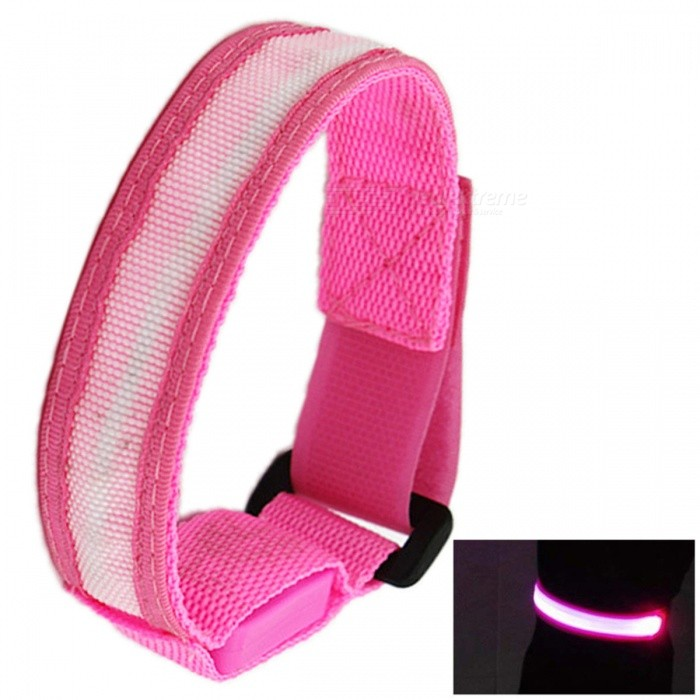 1PCS YWXLight Glow Belt Light Arm Band led Wrist Straps Light PinkLED Nightlights<br>Form  ColorPinkMaterialNylonQuantity1 DX.PCM.Model.AttributeModel.UnitPower2WRated VoltageOthers,DC 5 DX.PCM.Model.AttributeModel.UnitConnector TypeOthersColor BINPinkEmitter TypeLEDTotal Emitters1Theoretical Lumens200-300 DX.PCM.Model.AttributeModel.UnitActual Lumens100-200 DX.PCM.Model.AttributeModel.UnitColor Temperature12000K,OthersDimmableNoBeam Angle180 DX.PCM.Model.AttributeModel.UnitInstallation TypeOthersPacking List1* YWXLight Glow Belt Light Arm Band<br>