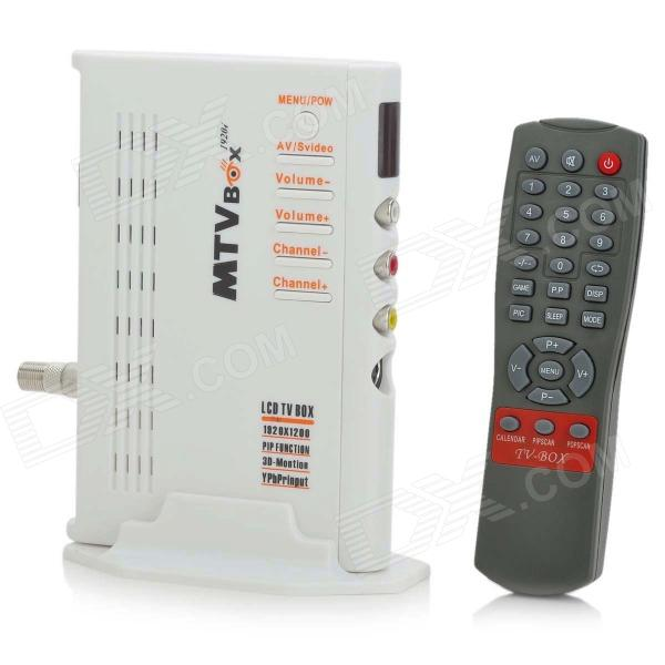 Digital LCD HDTV Tuner Box with PIP/AV-IN/S-Video/VGA