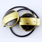 Eastor Wireless Bluetooth V4.1 Sports FM Neckband Earphone - Golden