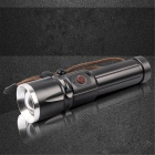 YWXLight Waterproof LED Flashlight Tactical Torch for Outdoor - Grey