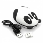 MAIKOU Cartoon Panda 1200DPI 2.4GHz Wireless Mouse-Weiß