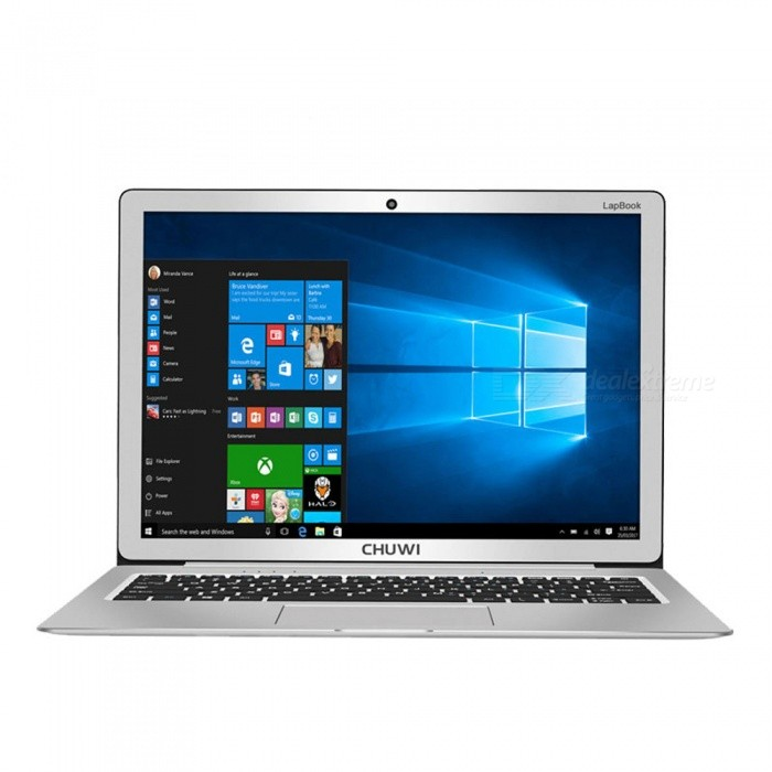 CHUWI LapBook 12.3 Inch Quad-core Notebook 6GB RAM, 64GB ROM (US Plug)Netbooks and Laptops<br>Form  ColorUS PlugModelLapBook 12.3Quantity1 DX.PCM.Model.AttributeModel.UnitShade Of ColorSilverMaterialAluminium alloyProcessor BrandIntel othersProcessor ModelOthers,Intel Celeron N3450Number of CoresQuad CoreProcessor Speed1.1GHz(up to 2.2GHz) DX.PCM.Model.AttributeModel.UnitGPUIntel® HD Graphics 500 (up to 700MHz)Built-in Memory / RAMOthers,6GBCapacity / ROM64GBScreen SizeOthers,12.3 inchResolutionOthers,2736 x 1824Screen TypeIPSTouchpadNoTouch TypeCapacitive screenWi-Fi StandardOthers,WiFi 802.11ac  /b/g/n, 2.4Ghz/5G hzBluetooth VersionBluetooth V4.0Supported NetworkRJ45,External 3G,BluetoothUSBUSB 2.0,USB 3.0Storage InterfaceTF,Others,M.2 SSD PortsExternal Memory Max. SupportOthers,TF:Max. Support 128GB, M.2 SSD:Max. Support 256 DX.PCM.Model.AttributeModel.UnitHDMIHDMI 1.4MicrophoneYesSpeaker2CameraYesFront Camera Pixels2.0 DX.PCM.Model.AttributeModel.UnitE-bookDOC,PDF,TXTVideo FormatsRM,RMVB,MP4,MPEGPicture FormatsJPEG,BMP,PNG,GIF,TIFFBattery Capacity36.48 DX.PCM.Model.AttributeModel.UnitOperating SystemOthers,Windows 10Supported LanguagesEnglish,French,German,Italian,Spanish,Portuguese,Russian,Dutch,Others,And other languages need to be downloaded by Wi-FiBattery TypeLi-polymer batteryStandby Time7~8 DX.PCM.Model.AttributeModel.UnitPacking List1 x LapBook 12.31 x Charger1 x Manual<br>