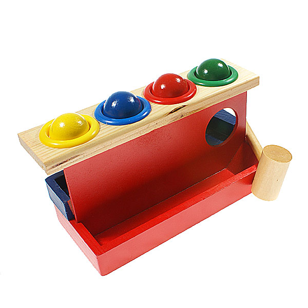 Best Ball Popper Toys For Kids : Pop a ball wooden toy children free shipping dealextreme