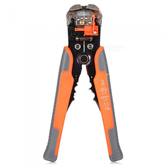 AC-26 Multi-function Heavy-duty Automatic Wire Strippers - RedOther Tools<br>Form  ColorRedModelAC-26Quantity1 DX.PCM.Model.AttributeModel.UnitMaterialCarbon steel and plasticPacking List1 x Wire strippers<br>