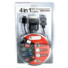 4-in-1 Component Video Cable for Wii / XBox / PS3 / PS2