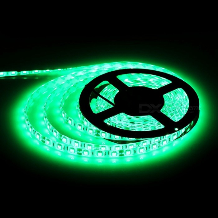 ZHAOYAO Non-Waterproof 72W DC12V 5050SMD 300-LED Strip Light - Green5050 SMD Strips<br>Form  ColorBlack + Silver + Multi-ColoredColor BINGreenModel5050-300L-GreenMaterialCircuit boardQuantity1 DX.PCM.Model.AttributeModel.UnitPower72WRated VoltageDC 12 DX.PCM.Model.AttributeModel.UnitEmitter Type5050 SMD LEDTotal Emitters300Wavelength520-540nmTheoretical Lumens7200 DX.PCM.Model.AttributeModel.UnitActual Lumens20-6000 DX.PCM.Model.AttributeModel.UnitPower AdapterEU PlugPacking List1 x LED strip1 x DC adapter1 x EU Power Adapter<br>