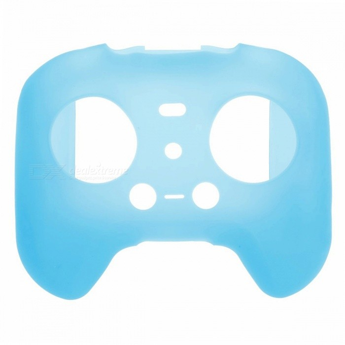 Silicone Remote Controller Cover for XIAOMI MI Drone - BlueOther Toys<br>Form  ColorSapphire BlueModelMI DroneMaterialSiliconeQuantity1 pieceSuitable Age Grown upsPacking List1 x Remote Controller Cover<br>