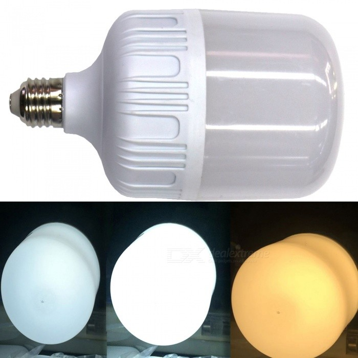 2835SMD 60-LED 28W 2160LM Energy-Saving Three-Color Dimming LED BulbColor BINThree-Color DimmingModelE27  28WMaterialPlasticForm  ColorWhiteQuantity1 DX.PCM.Model.AttributeModel.UnitPowerOthers,28WRated VoltageAC 85-265 DX.PCM.Model.AttributeModel.UnitConnector TypeE27Chip BrandOthers,2835Chip Type2835Emitter TypeOthers,2835Total Emitters60Theoretical Lumens2160 DX.PCM.Model.AttributeModel.UnitActual Lumens2000 DX.PCM.Model.AttributeModel.UnitColor Temperature5000KDimmableYesBeam Angle360 DX.PCM.Model.AttributeModel.UnitPacking List1 x LED Bulb<br>