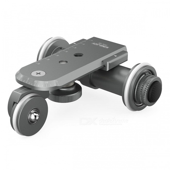 Motorized Electric 3 Wheel Video Pulley Car For Cannon Nikon Sony Free Shipping Dealextreme
