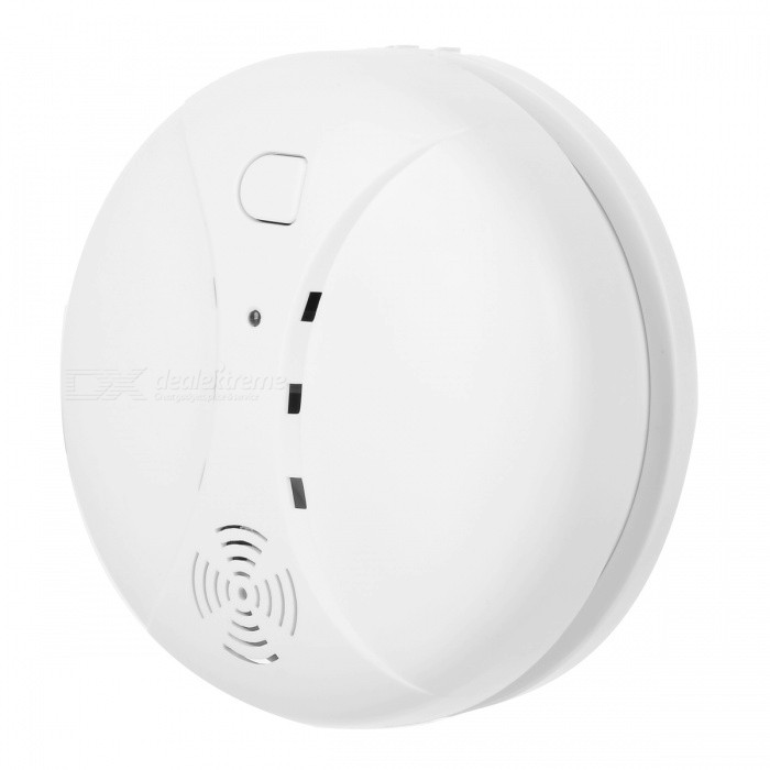 Independent Composite Smoke Detector - White (80dB)Alarm Systems<br>Form  ColorWhitePower AdapterBatteryModelPA-439MaterialPVCQuantity1 DX.PCM.Model.AttributeModel.UnitVoice Decibels80Power AdaptornoPower Supply1Working Temperature40-70 DX.PCM.Model.AttributeModel.UnitWorking Humidity70%Battery included or notYesBattery Number1Rated Current10 DX.PCM.Model.AttributeModel.UnitRate Voltage9VCertificationCE, RoHSPacking List1 x Smoke Detector2 x Screws<br>
