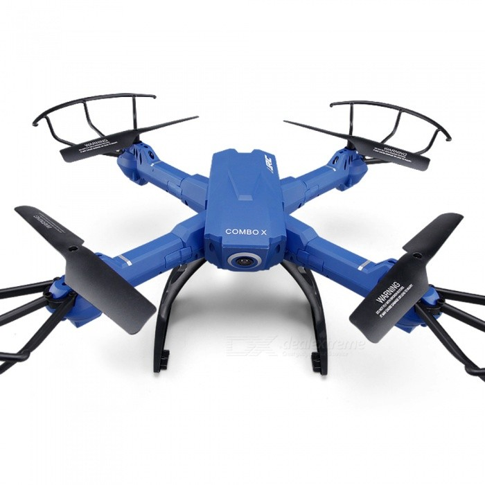 JJRC H38WH 4-CH Wi-Fi RC Quadcopter with Altitude Hold Function -BlueR/C Airplanes&amp;Quadcopters<br>Form  ColorNavy BlueModelH38WHMaterialABSQuantity1 DX.PCM.Model.AttributeModel.UnitShade Of ColorBlueGyroscopeYesChannels Quanlity4 DX.PCM.Model.AttributeModel.UnitFunctionOthers,Up , Down , Left , Right , Forward , Backward , Stop , Hovering , Sideward flightRemote TypeRadio ControlRemote control frequency2.4GHzRemote Control Range100 DX.PCM.Model.AttributeModel.UnitSuitable Age 13-24 months,12-15 years,Grown upsCameraYesCamera PixelOthers,2.0MP Wide Angle 120 DegreeLamp YesBattery TypeLi-polymer batteryBattery Capacity500 DX.PCM.Model.AttributeModel.UnitCharging Time120 DX.PCM.Model.AttributeModel.UnitWorking Time8-10 DX.PCM.Model.AttributeModel.UnitRemote Controller Battery TypeAARemote Controller Battery Number4 x batteries (not included)Remote Control TypeWirelessModelMode 2 (Left Throttle Hand)CertificationCEOther FeaturesHeadless Mode:<br>Headless mode ensures that the quadcopter will always follow controls from your perspective all the time, regardless of which way the quad is facing.Packing List1 x JJRC H38WH RC Quadcopter1 x Transmitter1 x Phone Holder1 x Battery4 x Blades2 x Landing Skids4 x Propeller Protectors1 x USB Cable1 x Screw Driver1 x Manual<br>