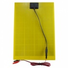 SUNWALK 10W 18V 550mAh Output Solar Panel Charger for 12V Battery