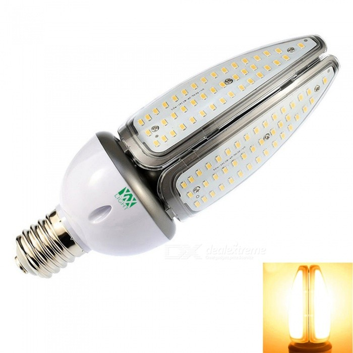 YWXLight E39 E40 168-LED Engineering Light, Street Lamp - Warm WhiteOther Connector Bulbs<br>Color BINE39/E40 Warm WhiteMaterialAluminumForm  ColorWhite + Orange + Multi-ColoredQuantity1 DX.PCM.Model.AttributeModel.UnitPowerOthers,50WRated VoltageOthers,AC 100-277 DX.PCM.Model.AttributeModel.UnitConnector TypeOthers,E39 / 40Chip BrandOthersEmitter TypeOthers,5730 SMD LEDTotal Emitters168Theoretical Lumens5000-5100 DX.PCM.Model.AttributeModel.UnitActual Lumens4950-5000 DX.PCM.Model.AttributeModel.UnitColor Temperature3000KDimmableNoBeam Angle360 DX.PCM.Model.AttributeModel.UnitPacking List1 x YWXLight Street Lamp<br>