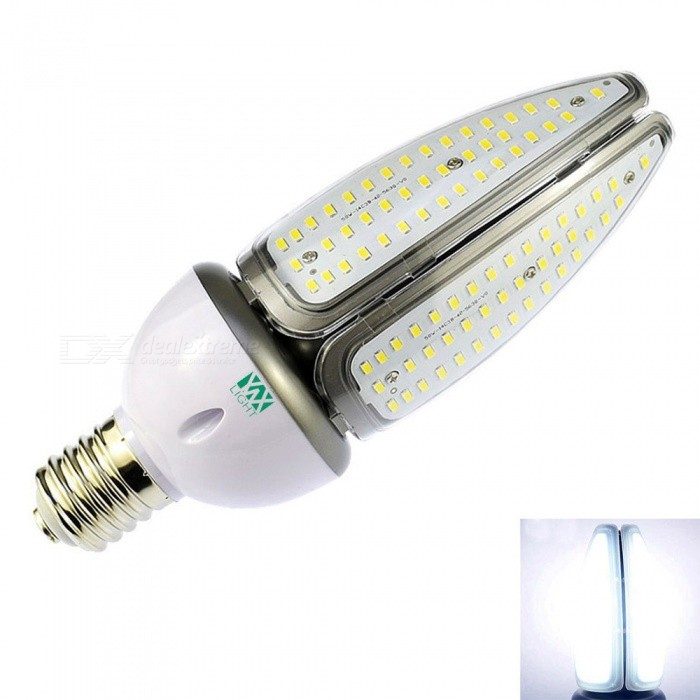 YWXLight E39 E40 168-LED Engineering Light, Street Lamp - Cold WhiteOther Connector Bulbs<br>Color BINE39/E40 Cold WhiteMaterialAluminumForm  ColorWhite + Orange + Multi-ColoredQuantity1 piecePowerOthers,50WRated VoltageOthers,AC 100-277 VConnector TypeOthers,E39 / E40Chip BrandOthersEmitter TypeOthers,5730 SMD LEDTotal Emitters168Theoretical Lumens5000-5100 lumensActual Lumens4950-5000 lumensColor Temperature6500KDimmableNoBeam Angle360 °Packing List1 x YWXLight Street Lamp<br>