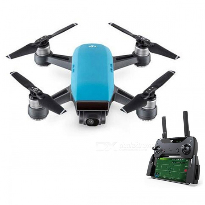 DJI Spark RC Quadcopter Fly More Combo - Blue / RTFR/C Airplanes&amp;Quadcopters<br>Form  ColorBlueModelSparkMaterialPlasticQuantity1 DX.PCM.Model.AttributeModel.UnitShade Of ColorBlueGyroscopeYesChannels Quanlity6 DX.PCM.Model.AttributeModel.UnitFunctionUp,Down,Left,Right,Forward,Backward,StopRemote TypeRadio ControlRemote control frequency2.4GHzRemote Control Range1000~2000 DX.PCM.Model.AttributeModel.UnitSuitable Age Grown upsCameraYesCamera PixelOthers,12MPLamp YesBattery TypeLi-polymer batteryBattery Capacity1480 DX.PCM.Model.AttributeModel.UnitCharging Time30 DX.PCM.Model.AttributeModel.UnitWorking Time15~16 DX.PCM.Model.AttributeModel.UnitRemote Controller Battery TypeOthers,Built-in rechargeable batteryRemote Controller Battery Number1Remote Control TypeIncluded,IPHONE or IPAD or IPOD,Others,2.4GHz Wireless Remote ControlModelMode 2 (Left Throttle Hand)Packing List1 x DJI Spark1 x Remote Controller4 x Pairs of Propellers2 x Flight Battery1 x Charger4 x Propeller Guards1 x Charging Hub1 x Power Cable1 x USB Cable1 x Carrying Case1 x Shoulder Bag<br>