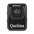 Buy Quelima Mini HD 1080P DVR 8-LED Infrared Night Vision - Black