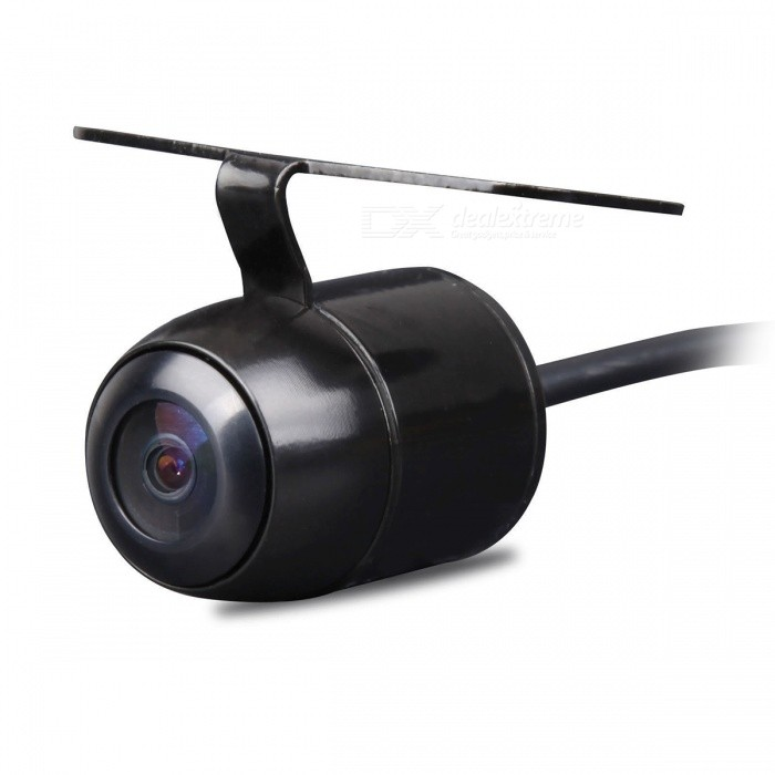 Mini Waterproof Car Rear View Reverse Backup CCD Camera - BlackRearview Mirrors and Cameras<br>Form  ColorBlackModelN/AQuantity1 DX.PCM.Model.AttributeModel.UnitMaterialABSCompatible MakeOthers,UniversalCompatible Car ModelUniversalStyleExternalPacking List1 x Car Rear View Camera<br>