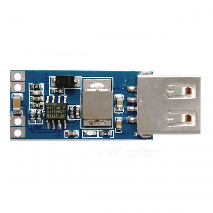 DC-DC7.5V-9V / 12V / 24V 28V to 5V USB Buck Power Supply ModulePower Module<br>Form  ColorBlue + Silver + Multi-ColoredModelONQuantity1 DX.PCM.Model.AttributeModel.UnitMaterialPCE-AInput Voltage7.5V-28V DX.PCM.Model.AttributeModel.UnitOutput Voltage5V/3A DX.PCM.Model.AttributeModel.UnitEnglish Manual / SpecNoDownload Link   ONPacking List1 x Module<br>