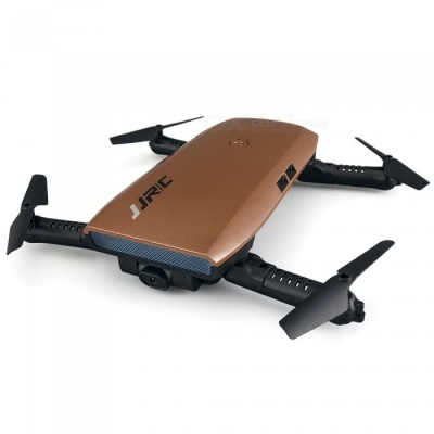 JJRC H47 Elfie + Mini Foldable Wi-Fi RC Drone Quadcopter-Marron
