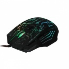 5500 DPI 7 Buttons 7 colors LED Optical USB Wired Gaming Mouse