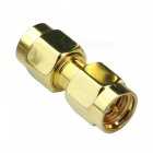 ZHAOYAO 5Pcs SMA Male to Male Plug RF Coaxial Adapter Connectors