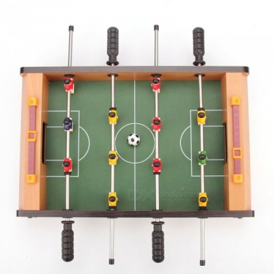 Mini Portable Foosball Table Soccer Game Toy for Family Use