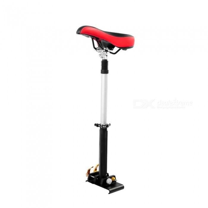 Portable Adjustable Soft Seat Saddle Set for Xiaomi Electric ScooterForm  ColorRed + BlackSizeFree SizeQuantity1 setMaterialAluminum alloy + steelPacking List1 x Scooter Seat Set<br>