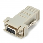 DB9 Female to RJ45 Female Modular Adapter