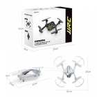 JJRC H44WH DIAMAN Wi-Fi FPV Foldable RC Quadcopter w/ Camera - Silver