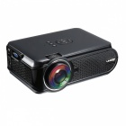 UHAPPY U90 Portable HD LED Mini 1500lumens Proyector - Negro