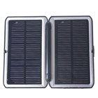 Solar Powered Self-Recharging USB Battery (with Cell Phone Adapters)