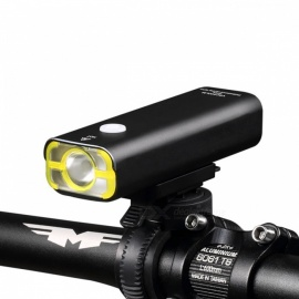 V9C-400 USB Rechargeable 4-Mode Mini Bicycle Front Light - Black