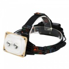 SPO Outdooer LED USB Rechargeable Floodlight Headlamp for Camping