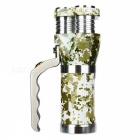 SPO Outdoor Portable Water Resistant Camouflage Flashlight