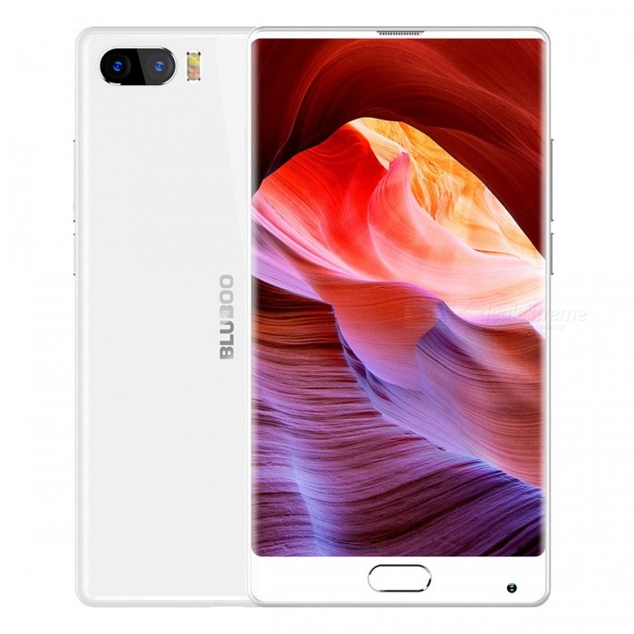 "Bluboo S1 Android 7.0 5.5"" FHD Phone with 4GB RAM, 64GB ROM - White"