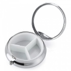 Travel Emergency Special Portable Pill Storage Box Case - Silver