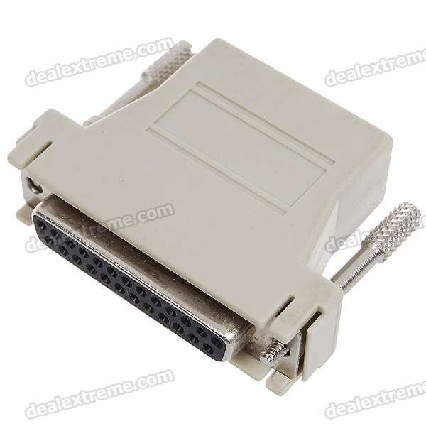 DB25 Female to RJ45 Modular Adapter db25 male db25 female mini gender changer convert adapter