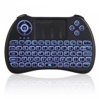 Mini Wireless Keyboard Touchpad Mouse m / Tri-Color Backlit