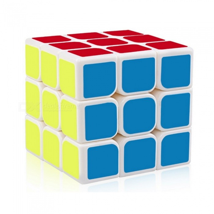 YJ Guanlong Speed Cube 3x3x3 Smooth Magic Cube Toy 56mm - WhiteMagic IQ Cubes<br>Form  ColorWhiteModelN/AMaterialABSQuantity1 DX.PCM.Model.AttributeModel.UnitType3x3x3Suitable Age 3-4 years,5-7 years,8-11 years,12-15 years,Grown upsPacking List1 x Speed Cube<br>