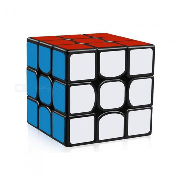 YJ Guanlong Speed Cube 3x3x3 Smooth Magic Cube Toy 56mm - BlackMagic IQ Cubes<br>Form  ColorBlackModelN/AMaterialABSQuantity1 DX.PCM.Model.AttributeModel.UnitType3x3x3Suitable Age 3-4 years,5-7 years,8-11 years,12-15 years,Grown upsPacking List1 x Speed Cube<br>