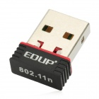 EDUP EP-N8508 Nano USB 2.0 150Mbps Wifi Network Adapter - Black